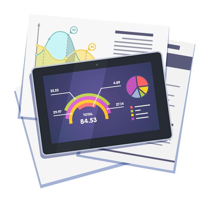 Tablet für Studium Grafik