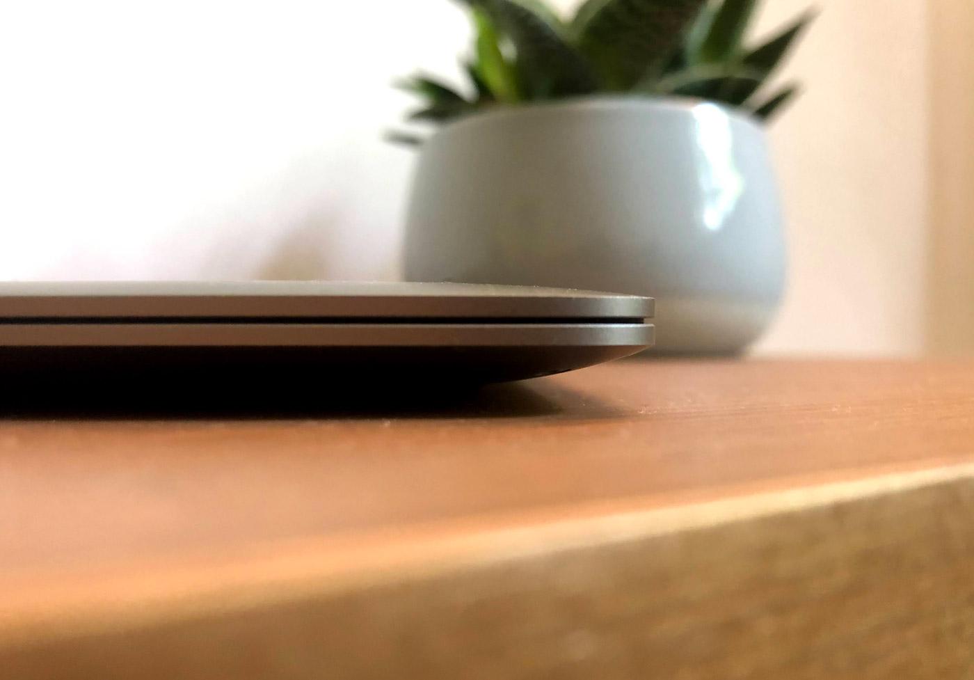 MacBook Air M1 Seitenansicht