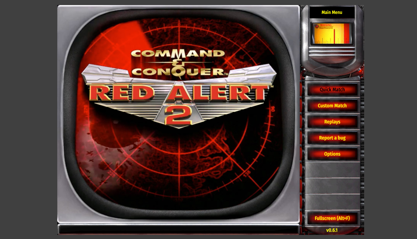 Red Alert Screenshot